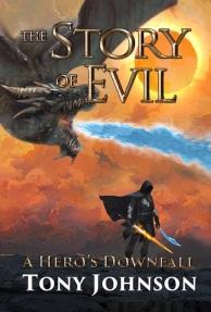 a hero's downfall front cover - Tony Johnson