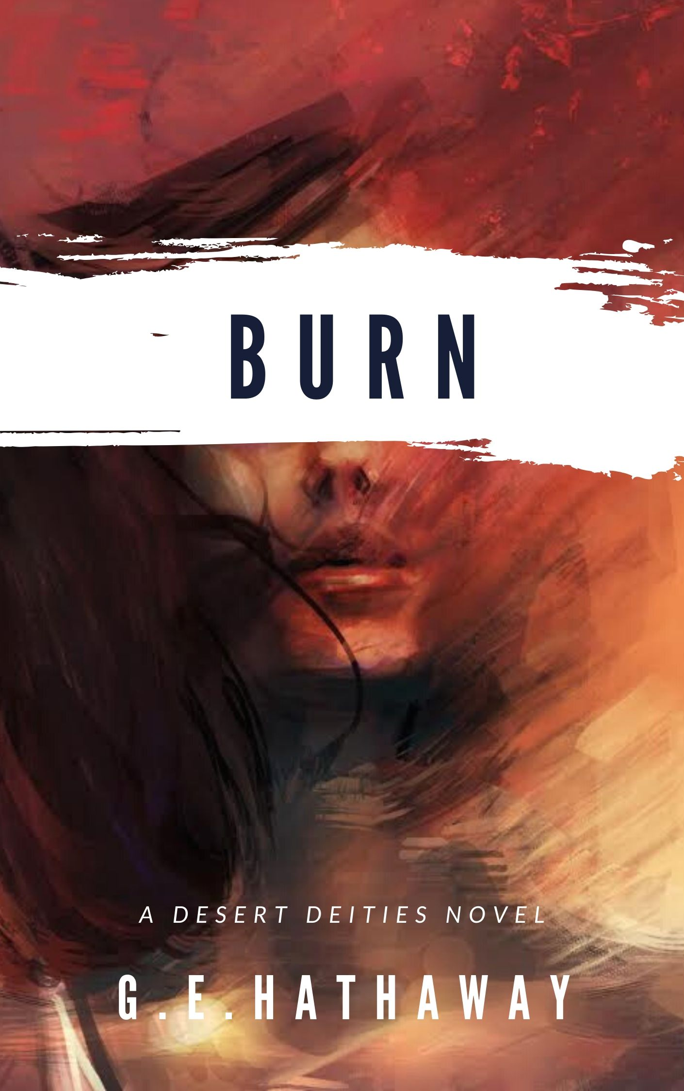 Burn ecover - G.E. Hathaway - Vickie L. H.